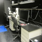 Scope Room (fluorescent dissecting microscope and analysis station)